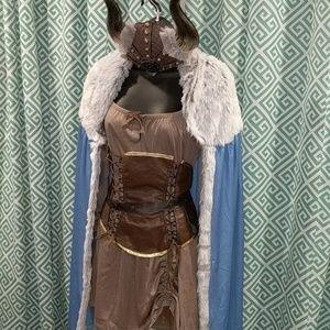 Viking Princess Costume 100% Complete Size Large
